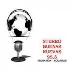 Logo da emissora Radio Stereo Buenas Novas 95.3 FM