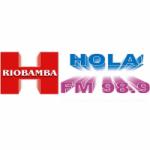 Logo da emissora Radio Hola 98.9 FM