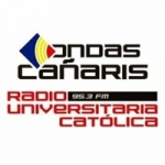 Logo da emissora Radio Ondas Cañaris 95.3 FM