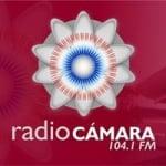 Logo da emissora Radio Cámara 104.1 FM