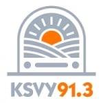 Logo da emissora Radio KSVY 91.3 FM