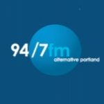 Logo da emissora KNRK 94.7 FM