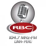 Logo da emissora Radio RBC 104.7 FM