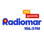 Logo da emissora Radiomar 106.3 FM