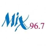 Logo da emissora KSYV 96.7 FM Mix