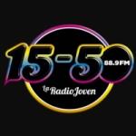 Logo da emissora Radio 15-50 88.9 FM