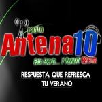 Logo da emissora Radio Antena 10 88.9 FM