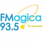 Logo da emissora Radio FM Magica 93.5