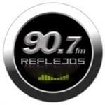 Logo da emissora Radio Reflejos 90.7 FM