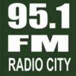 Logo da emissora Radio City Durazno 95.1 FM