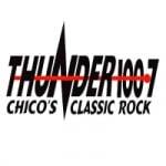 Logo da emissora Radio KTHU 100.7 FM