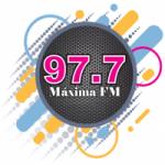 Logo da emissora Radio Máxima 97.7 FM