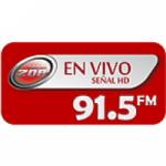 Logo da emissora Radio Senal Zoe 91.5 FM