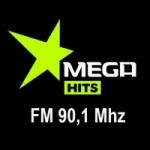 Logo da emissora Radio Mega Hits FM