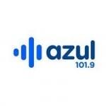 Logo da emissora Radio Azul 101.9 FM