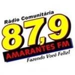 Logo da emissora Rádio Amarantes 87.9 FM