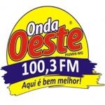 Logo da emissora Rádio Onda Oeste 100.3 FM