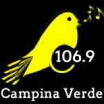 Logo da emissora Rádio Canarinho 106.9 FM