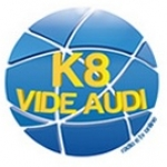 Logo da emissora Rádio e TV K8