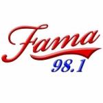Logo da emissora Radio Fama 98.1 FM