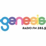 Logo da emissora Radio Génesis 101.5 FM