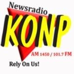 Logo da emissora KONP 1450 AM