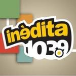 Logo da emissora Radio Inédita 103.9 FM