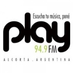 Logo da emissora Radio Play 94.9 FM