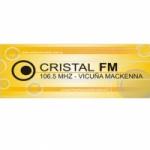 Logo da emissora Radio Cristal 106.5 FM