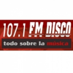 Logo da emissora Radio Disco 107.1 FM