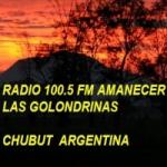 Logo da emissora Radio Amanecer 100.5 FM