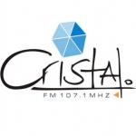 Logo da emissora Radio Cristal 107.1 FM