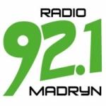 Logo da emissora Radio Madryn 92.1 FM