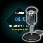 Logo da emissora Radio Municipal 95.9 FM
