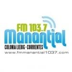 Logo da emissora Radio Manantial 103.7 FM