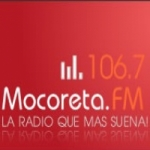 Logo da emissora Radio Mocoreta 106.7 FM