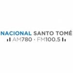 Logo da emissora Radio Nacional Santo Tomé 780 AM 100.5 FM