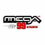 Logo da emissora Radio La Mega 99.9 FM
