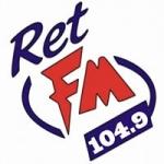 Logo da emissora Radio RET 107.5 FM