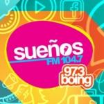 Logo da emissora Radio Sueños 104.7 FM