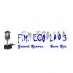 Logo da emissora Radio ECO 100.3 FM