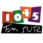 Logo da emissora Radio Sur 104.5 FM