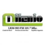 Logo da emissora Radio Milenio  101.9 FM
