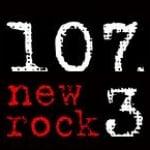 Logo da emissora KURQ 107.3 FM New Rock