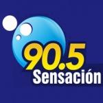 Logo da emissora Radio Sensación 90.5 FM