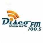Logo da emissora Radio Disco 100.5 FM