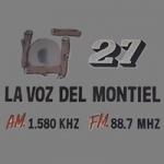 Logo da emissora Radio Voz del Montiel 1580 AM