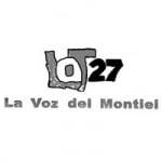 Logo da emissora Radio LT 27 La Voz del Montiel 1580 AM