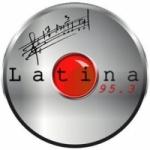 Logo da emissora Radio Latina 95.3 FM