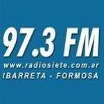 Logo da emissora Radio Siete 97.3 FM